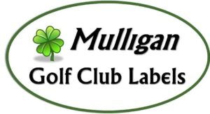 Mulligan Golf Club Labels